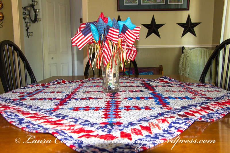 Courthouse Table Topper